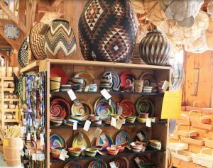 Browse Basketville's Beautiful Baskets