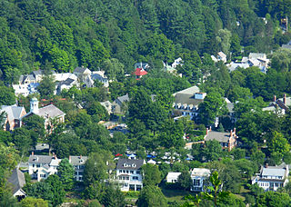 View of Woodstock, Vermont