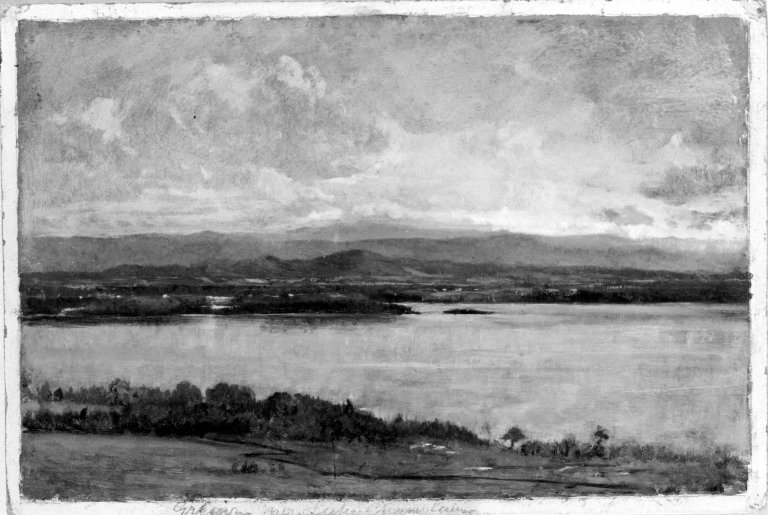 Green Mountains, Lake Champlain by Winckworth Allan Gay (1821–1910)